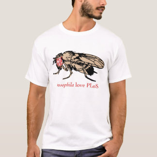 Drosophila Love PLoS T-Shirt