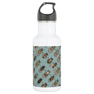 Drosophila mutants 18oz water bottle