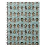 Drosophila mutants spiral note books