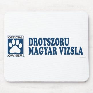 Drotszoru Magyar Vizsla Blue Mouse Pad
