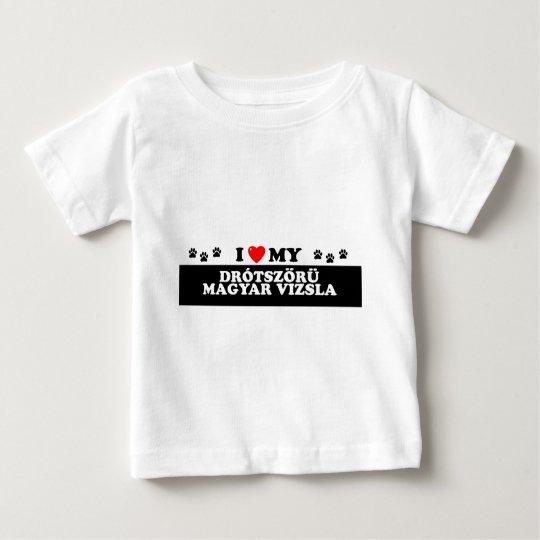 DRÓTSZÖRÜ MAGYAR VZSLA_ BABY T-Shirt