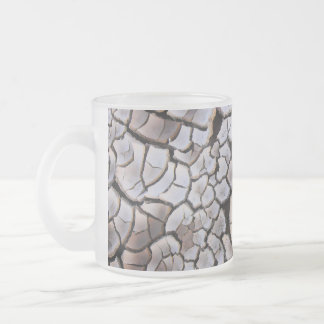 Drought 10 Oz Frosted Glass Coffee Mug