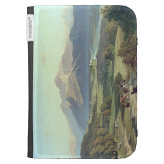 Drover on Horseback with his Cattle in a Mountaino Kindle 3 Case