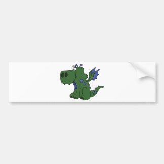 Drover the baby dragon bumper sticker
