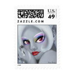 Drow Girl Stamp Franqueo