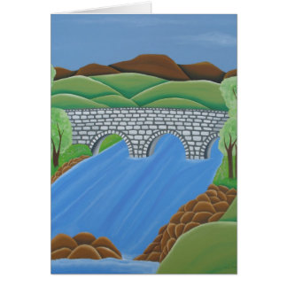 Drowe's Bridge, Ireland Card