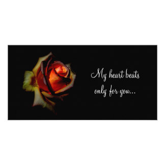 Drown Me In Love, My heart beats only for you... Card