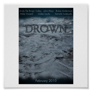 Drown Official Movie Poster 1