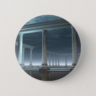 Drowned Greek Temple Ruin in the Moonlight Button