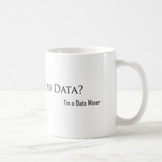 Drowned in Data? Mug