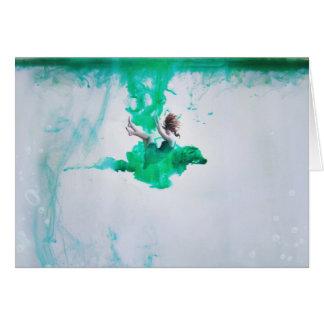 Drowning Card