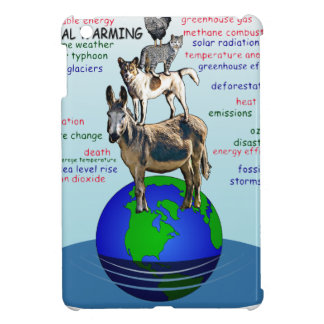 Drowning earth, sea level rise,global warming case for the iPad mini