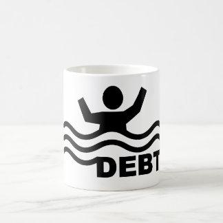 Drowning in Debt Coffee Mug
