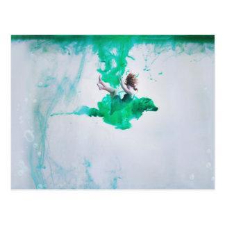 Drowning Postcard