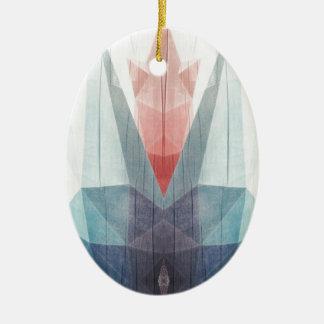 Drowning Tulip Ceramic Ornament
