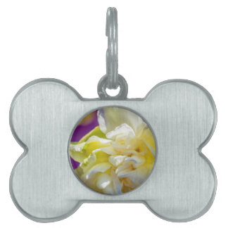Drowsy Daffodil Pet ID Tag