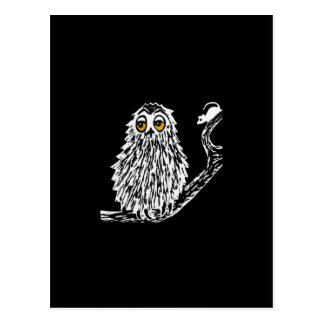 Drowsy Owl Postcard