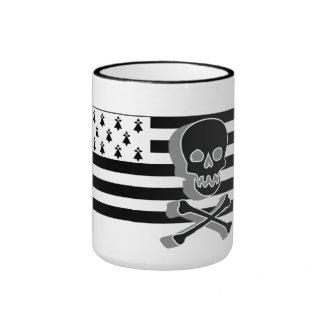 drpeau Breton/death's head Coffee Mug
