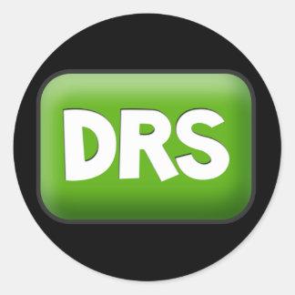 DRS CLASSIC ROUND STICKER