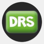 DRS ROUND STICKERS