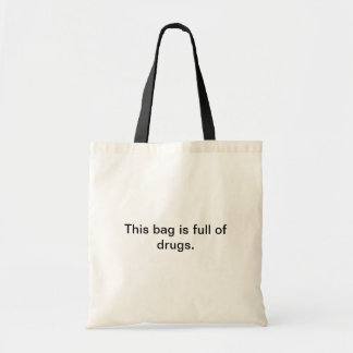 Drug bag. tote bag