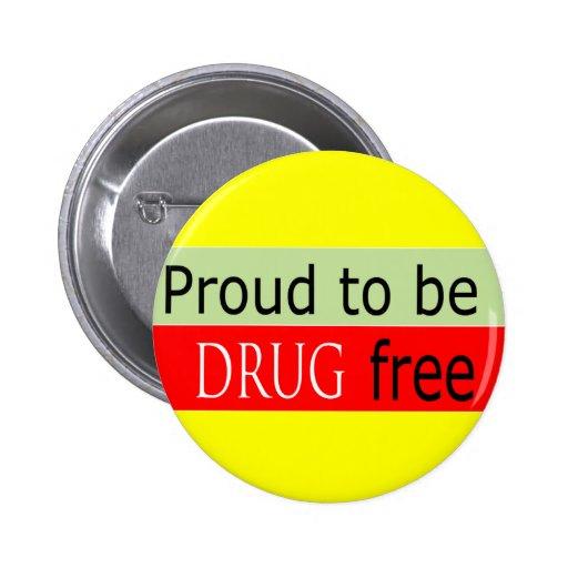 drug free button