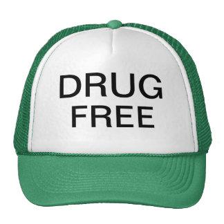 Drug free hat