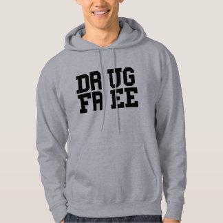 DRUG FREE HOODED PULLOVER