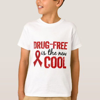 Drug-Free Is The New Cool T-Shirt