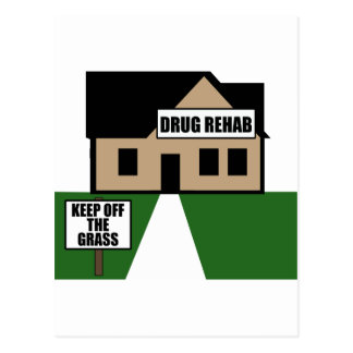 Drug Rehab Postcards