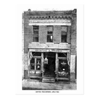 Drug Store Circi 1900 Postcards