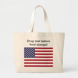 Drug test before food stamps gifts bag
