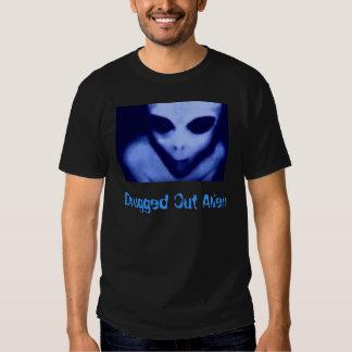 Drugged Out Alien T-shirt