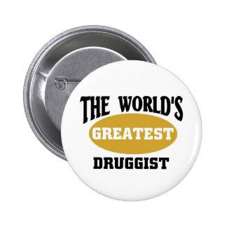 Druggist Pinback Button