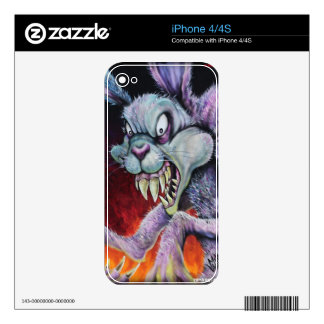Drugs Bunny - IPhone Skin Skin For The iPhone 4