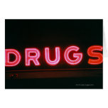 Drugs Greeting Cards