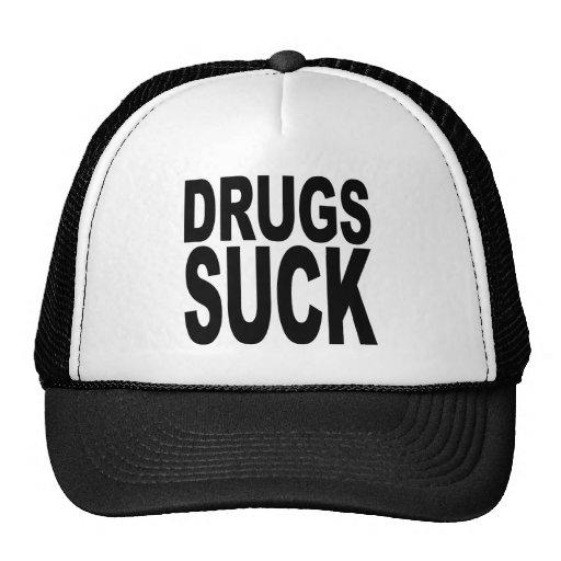 Drugs Suck Trucker Hat