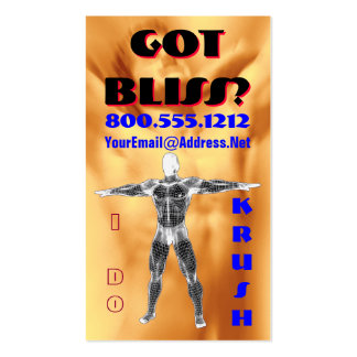 Drugs without the Drugs ... Business Card