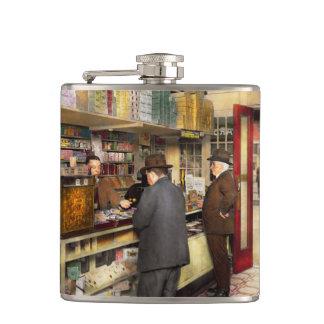 Drugstore - Exact change please 1920 Hip Flask
