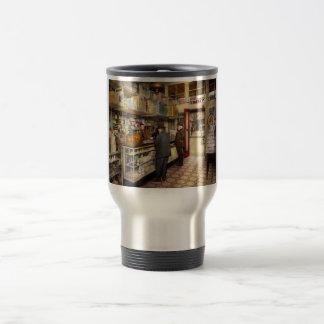 Drugstore - Exact change please 1920 Travel Mug
