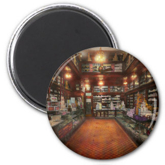 Drugstore - G.W. Armstrong drug store 1913 2 Inch Round Magnet