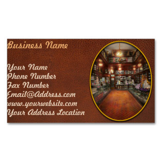 Drugstore - G.W. Armstrong drug store 1913 Business Card Magnet
