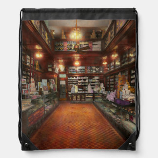 Drugstore - G.W. Armstrong drug store 1913 Drawstring Backpack