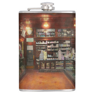 Drugstore - G.W. Armstrong drug store 1913 Flask