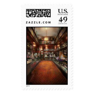 Drugstore - G.W. Armstrong drug store 1913 Postage