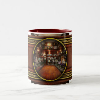 Drugstore - G.W. Armstrong drug store 1913 Two-Tone Coffee Mug