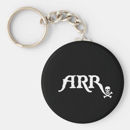 Drugstore Pirate Basic Round Button Keychain