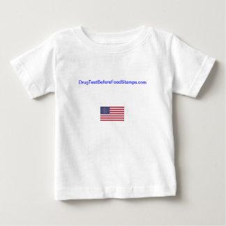 DrugTestBeforeFoodStamps.com infant shirt. T-shirt