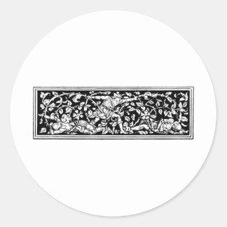 druid-art-2 round sticker