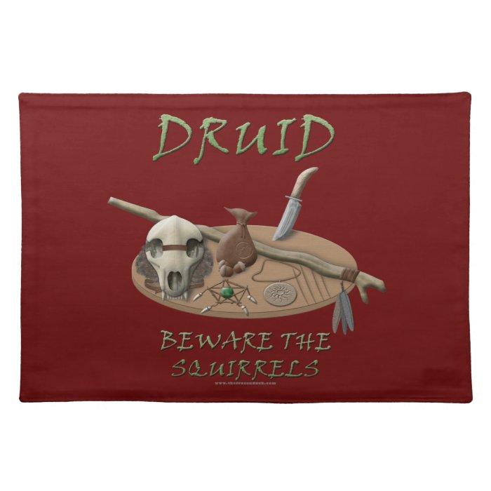 Druid: Beware the Squirrels Placemat